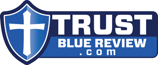 Trust Blue Review Logo